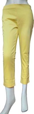 Miraaya CHEMISTRY Women's Yellow Capri