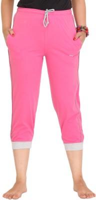 Colors & Blends Cl-101 Pink Women's Pink Capri