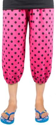 Victory Fashion Women's Pink Capri