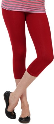 Femmora Chic Women's Red Capri