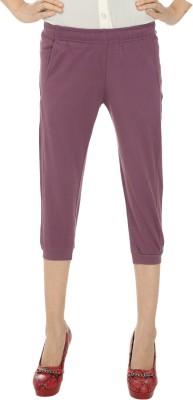Remanika Women's Purple Capri