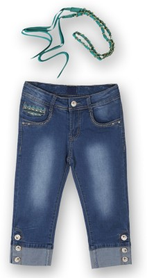 Lilliput Girl's Blue Capri