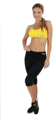 Apex Women's Black Capri at flipkart