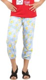 Meril Capri For Girls Printed Cotton (Bl...