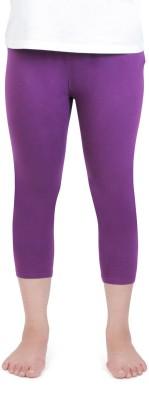 Vami Women's Purple Capri