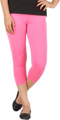 TECOT Women's Pink Capri