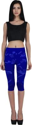 indian street fashion GJ Women's Blue Capri
