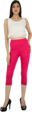 Legrisa Fashion Women's Pink Capri