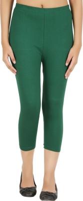 Notyetbyus Women's Green Capri
