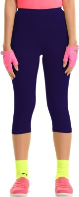 Groversons Fashion Women's Purple Capri