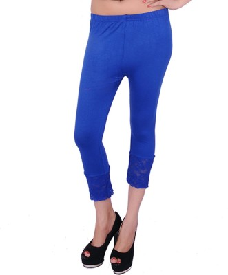 UrSense Fashion Women's Blue Capri