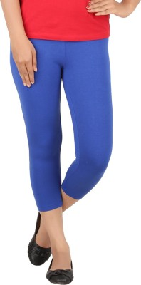 TECOT Women's Blue Capri