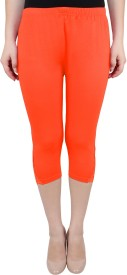 tanay Women's Orange Capri