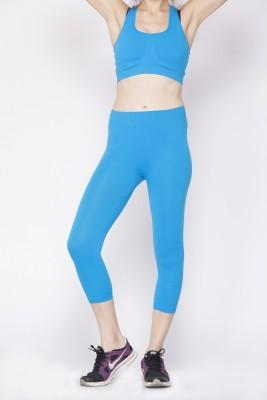 C9 Fashion Women's Light Blue Capri