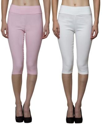 Both11 Women's Beige, Pink Capri
