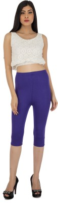 Legrisa Fashion Women's Purple Capri