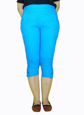 E2G Women's Blue Capri