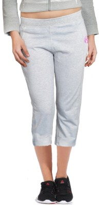 London Eye Women's Grey, Pink Capri