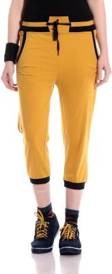 Glasgow Women,s Yellow Capri
