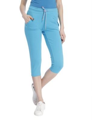 Only Women's Blue Capri