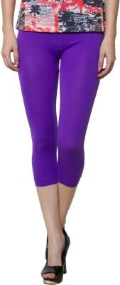 Both11 Fashion Women's Purple Capri