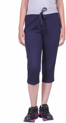 DFH Women's Blue Capri