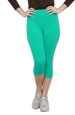 Softrose Women's Light Green Capri