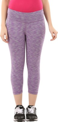 Lavos Women's Purple, Grey Capri