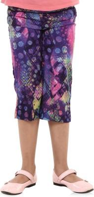 Oxolloxo Girl's Multicolor Capri
