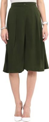 Uptownie Lite Last Call Culottes Women's Dark Green Capri