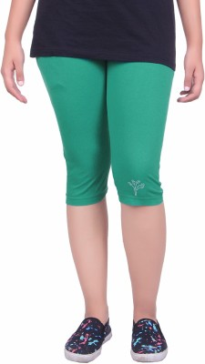 Kally Women's Green Capri