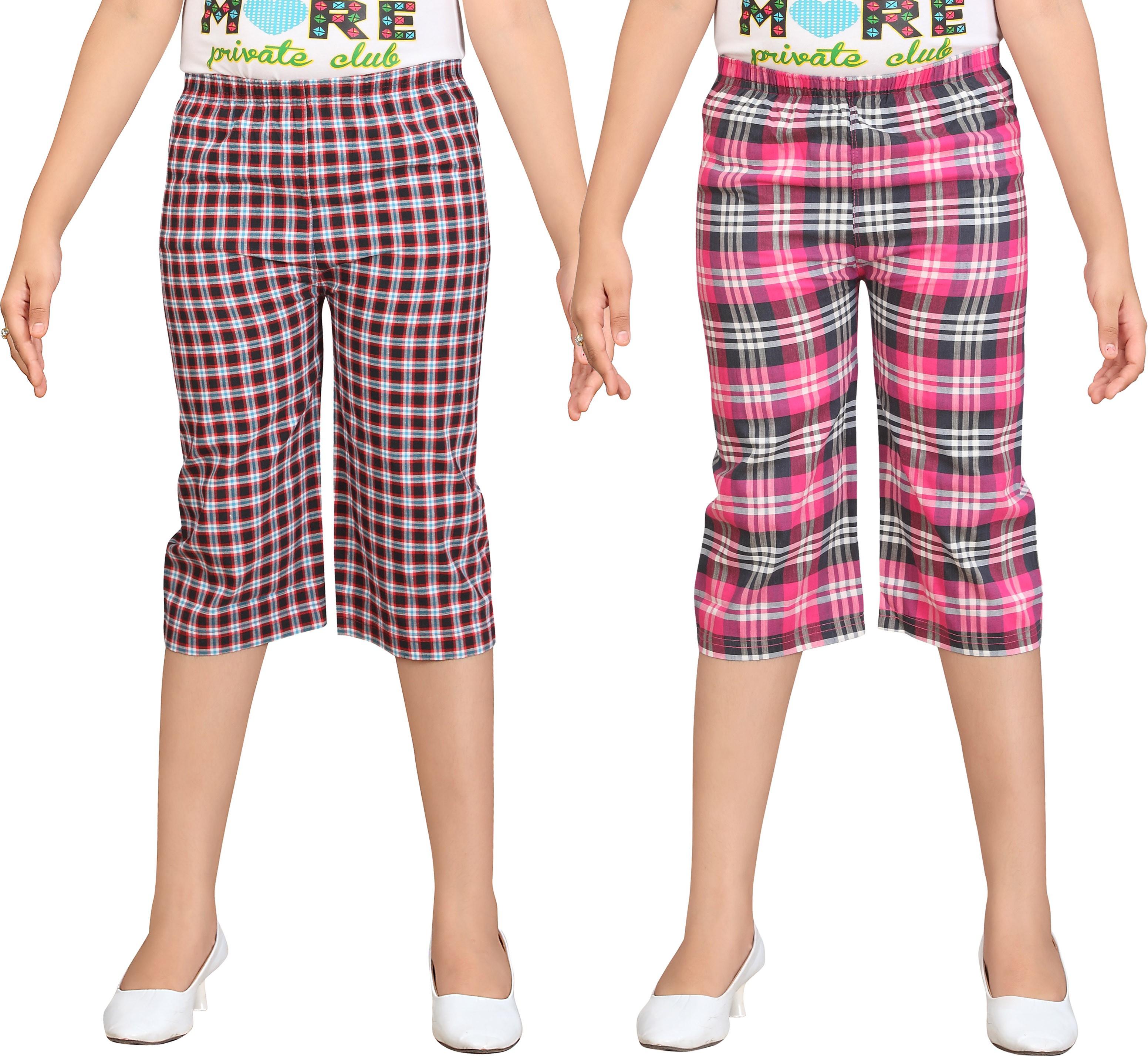 Sini Mini Girls Multicolor Capri