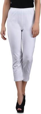 Finesse 3/4th Tights Women's White Capri