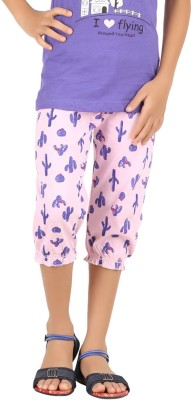 Meril Girl's Pink Capri