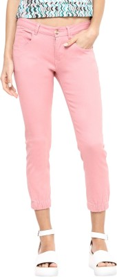 Yepme Women's Pink Capri at flipkart