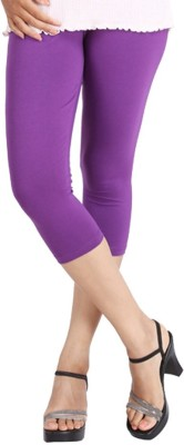 LGRL Women's Purple Capri