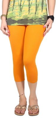 Q-Rious Women's Orange Capri
