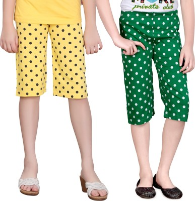 Sini Mini Girls Multicolor Capri