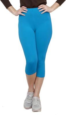 Softrose Women's Light Blue Capri