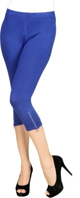 Sheenbottoms Women's Blue Capri