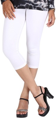 LGRL Women's White Capri