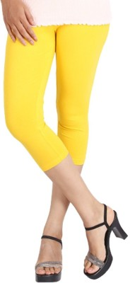 LGRL Women's Yellow Capri