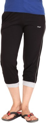 Colors & Blends Cl-101 Black Women's Black Capri at flipkart
