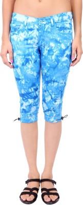 Fashion Cult Refined Women's Blue Capri