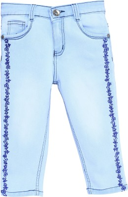 Bat Fashionable Women,s Light Blue Capri