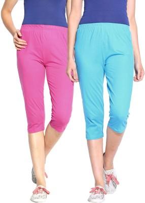 ESPRESSO Women's Blue, Pink Capri
