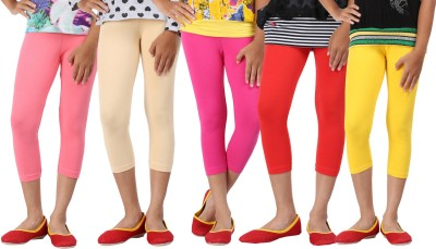Greenwich Girl's Pink, Beige, Pink, Red, Yellow Capri