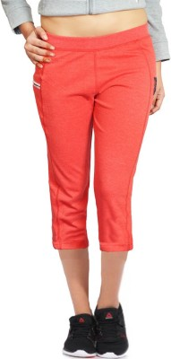 London Eye Women's Red Capri