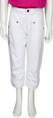 Eves Pret A Porter Fashion Girl's White Capri