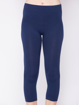 Channel Nine Fashion Women's Dark Blue Capri